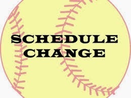 Girl's Softball Game Change 03/15/2019