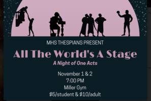 COME OUT AND SUPPORT OUR MHS THESPIANS!!