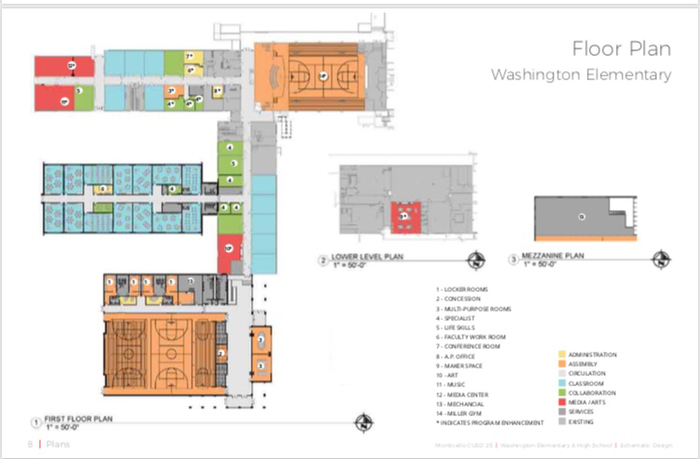 WASH Addition Floor Plan