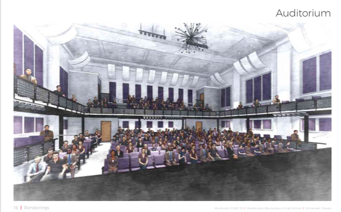 MHS Auditorium (if funding allows)