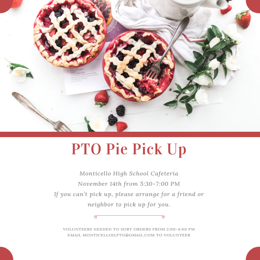 Pie pick up