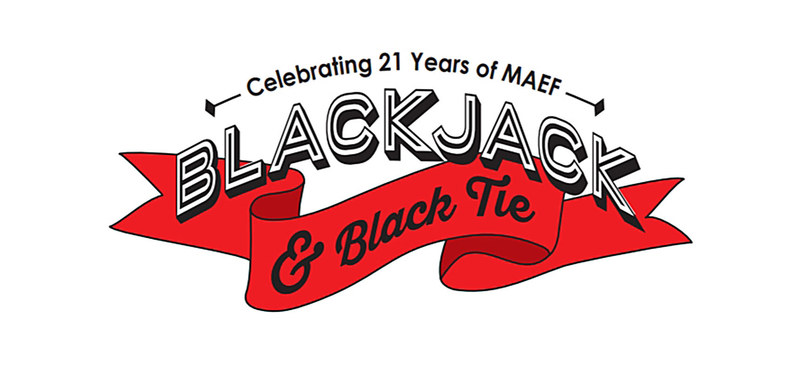 MAEF BlackJack and Black Tie Fundraiser